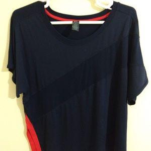 Champion Asymmetrical Short Sleeve Top - size XXL